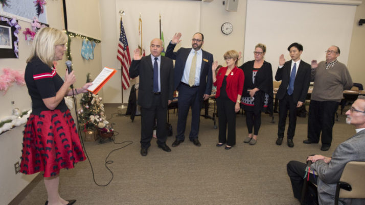 Crescenta Valley Town Council Swearing-In Ceremony