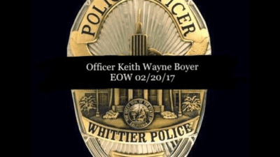 Barger Requests Investigation into Policies Surrounding Supervision of Felon Who Murdered Whittier Policeman