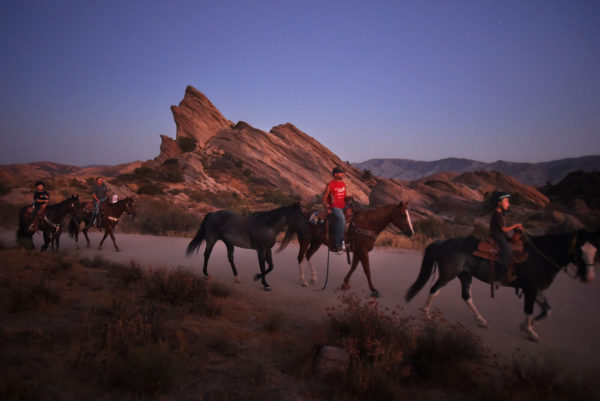 Vasquez Rocks Horseback Riding
