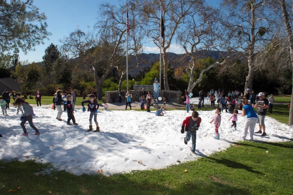 Supervisor Kathryn Barger Winter Wonderland At La County Parks
