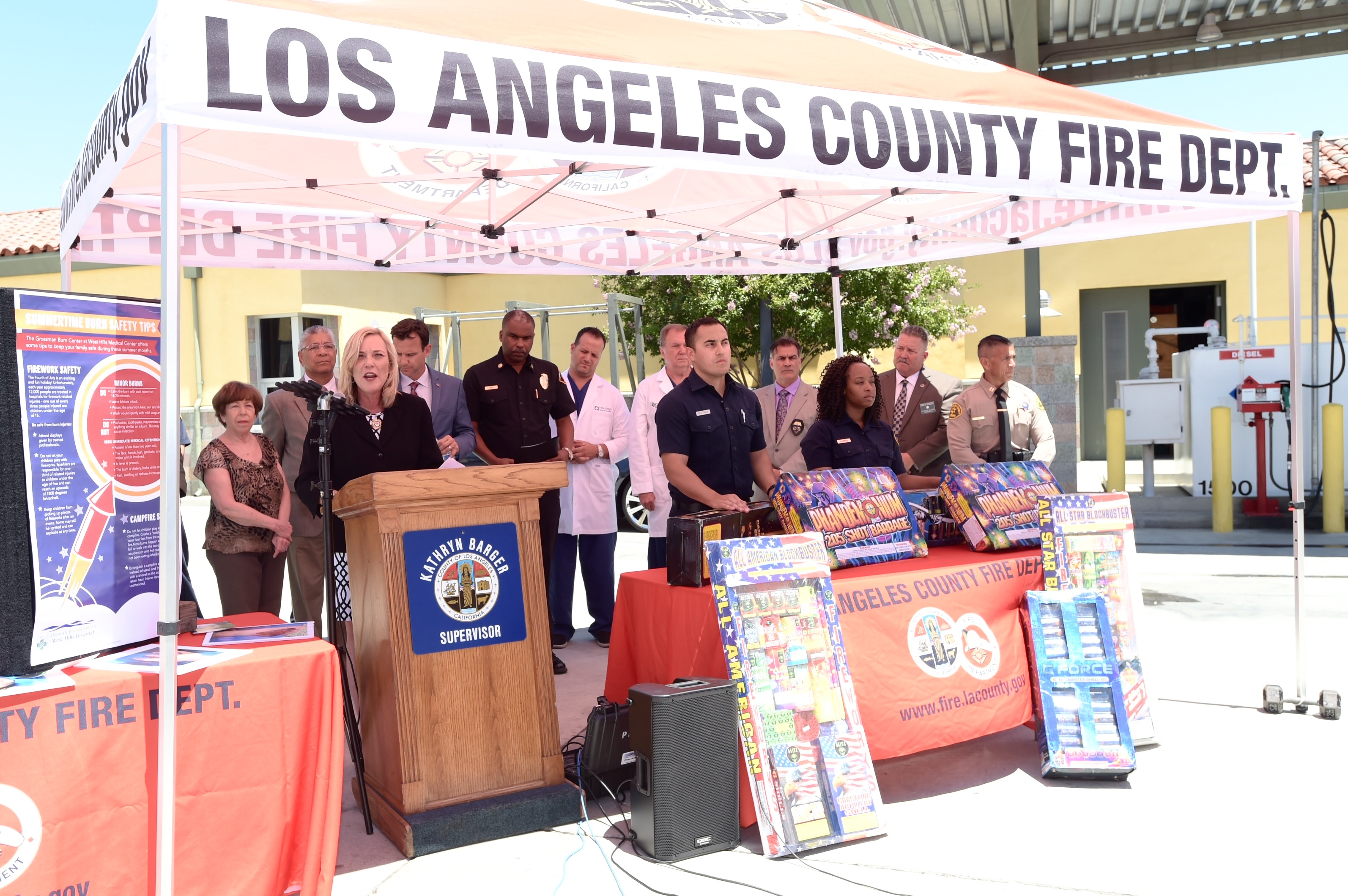 Supervisor Kathryn Barger Fireworks Are Illegal In Los Angeles County