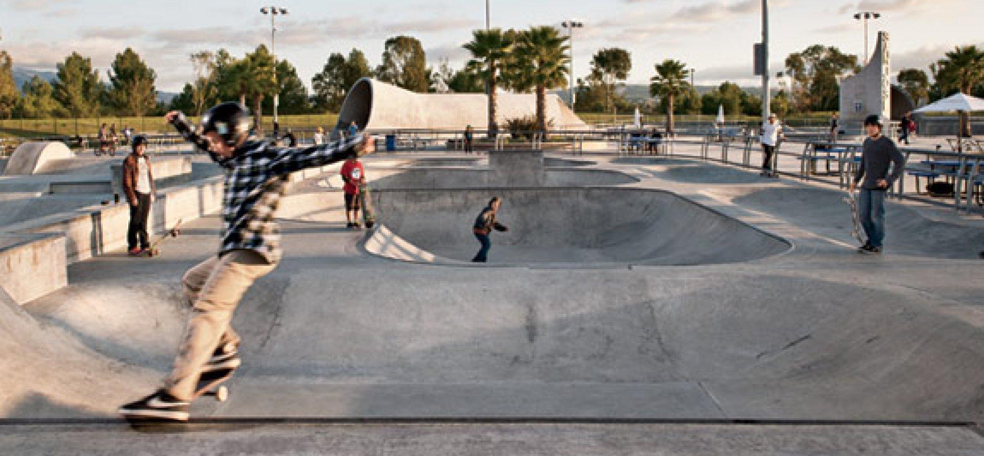 supervisor kathryn barger two skate parks approved in quartz hill