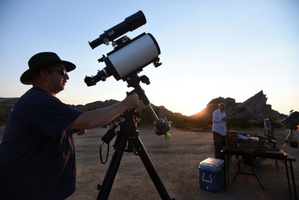 Vasquez Rocks Star Party